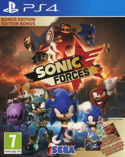 Sonic forces : bonus edition