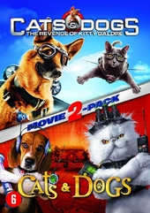 Cats & dogs : the revenge of Kitty Galore ; Cats & dogs : movie 2-pack