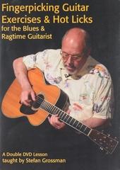 Fingerpicking guitar exercises & hotlicks for the blues & ragtime guitarist