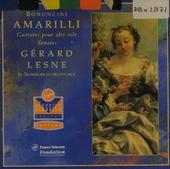 Amarilli : cantates pour alto solo