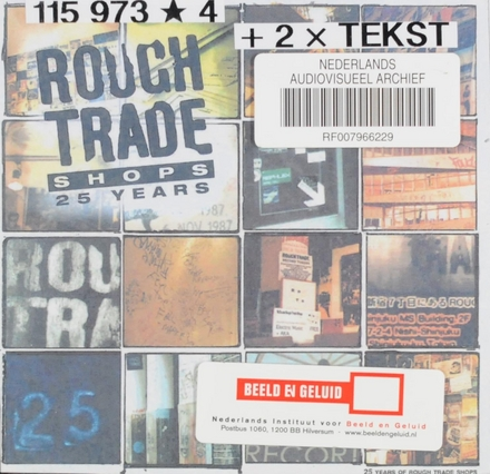 Rough Trade Shops : 25 years