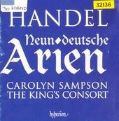 Nine German arias
