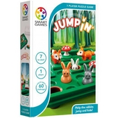 Jump in' : help the rabbits jump and hide!