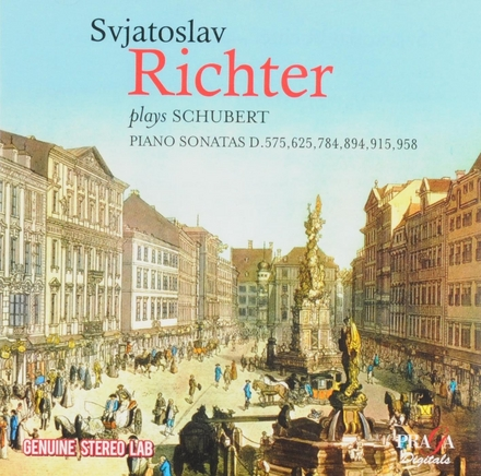 Svjatoslav Richter plays Franz Schubert. vol.1
