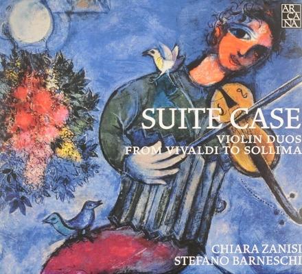 Suite case : Violin duos from Vivaldi to Sollima