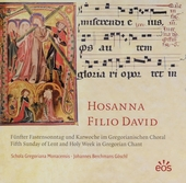 Hosanna filio David : Fünfter Fastensonntag und Karwoche im Gregorianischen Choral