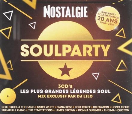 Nostalgie soulparty : les plus grandes légendes soul