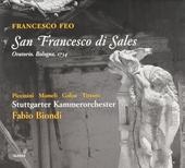 San Francesco di Sales : oratorio, Bologna 1734