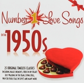 Number 1 love songs of the 1950s