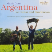 Music from Argentina : For guitar and bandoneon
