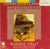 Les pièces de clavessin de Mr Louis Couperin. Tome V