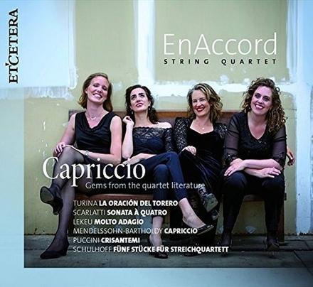 Capriccio : gems from the quartet literature