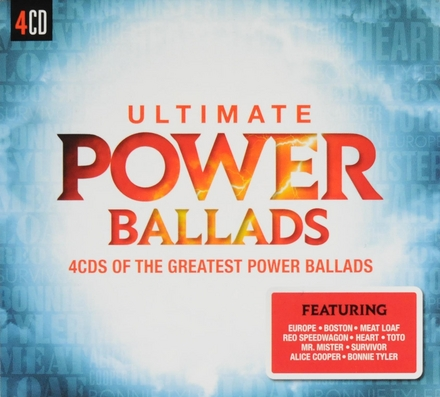 Ultimate power ballads