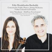 Concerto for violin, piano & string orchestra