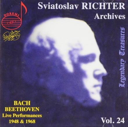 Sviatoslav Richter archives volume 24. vol.24