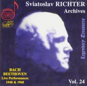 Sviatoslav Richter archives volume 24. vol.24