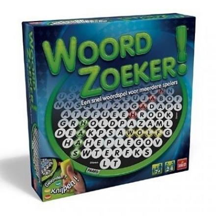 Woordzoeker! : een snel woordspel voor meerdere spelers