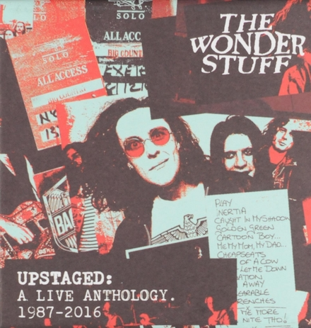 Upstaged: A live anthology 1987-2016