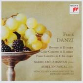 Ouverture in D major, piano concerto, cello concerto
