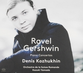 Ravel /Gershwin : piano concertos