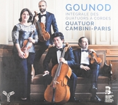Intégrale des quatuors à cordes