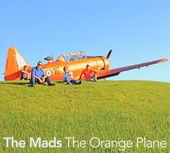 The orange plane