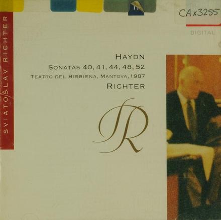 Haydn sonatas 40, 41, 44, 48, 52