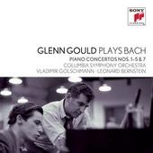 Glenn Gould plays Bach : piano concertos nos. 1-5 & 7