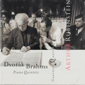 Dvorák & Brahms : piano quintets