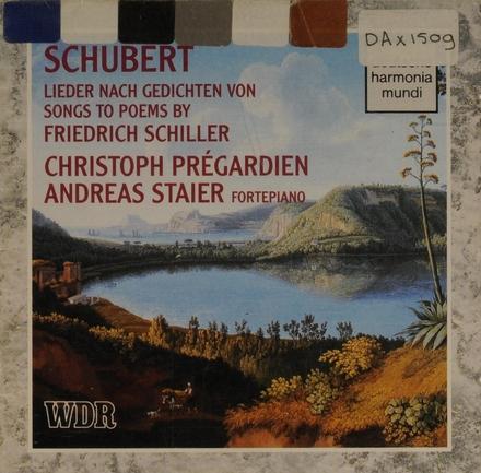 Lieder nach Gedichten von Friedrich Schiller