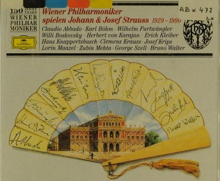 Wiener Philharmoniker spielen Johann & Josef Strauss