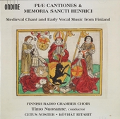Piae cantiones & Memoria sancti Henrici : Medieval chant and early vocal music from Finland