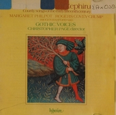 The garden of Zephirus : courtly songs of the early fifteenth century