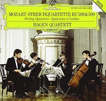 Streichquartette KV 589 & 590