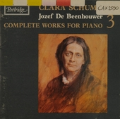 Complete works for piano. Volume 3