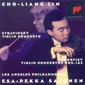 Stravinsky-Prokofiev : violin concertos