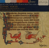 The spirits of England and France. Vol. 1, Music of the later Middle Ages for court and church