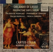 Prophetiae sibyllarum : Italian madrigals, French chansons
