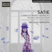 Complete piano works 3 : New Salabert edition. vol.3