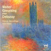 Walter Gieseking plays Debussy : Historic recordings 1927-1939