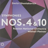 Symphonies nos. 4 & 10