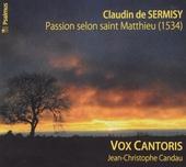Passion selon saint Matthieu 1534
