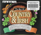 The best of country and Irish