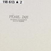 Memphis Tennessee : Augustus 15 2000