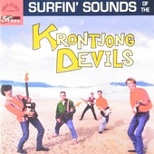Surfin' sounds of the Krontjong Devils