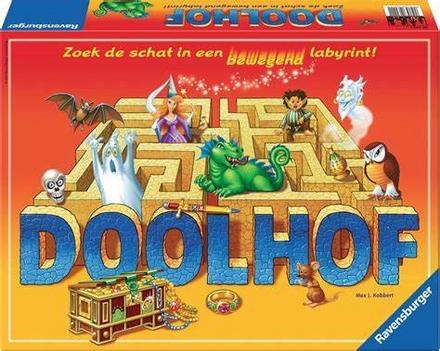 Doolhof : zoek de schat in een bewegend labyrint!