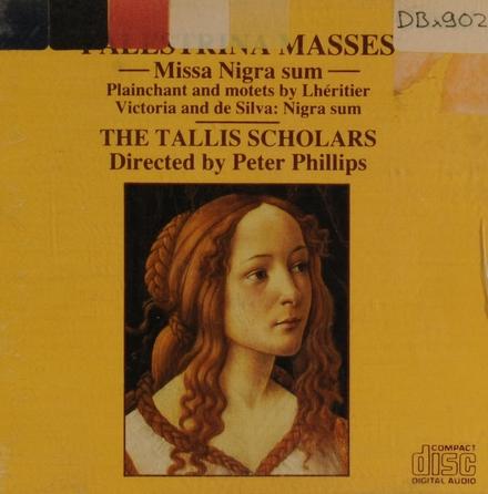 Palestrina masses : missa nigra sum