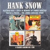 Railroad man ; Sings in memory of Jimmy Rodgers ; Tracks & trains ; The Jimmy Rodgers story