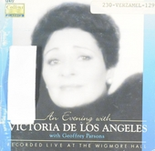 An evening with Victoria de los Angeles : Recorded live at the Wigmore hall