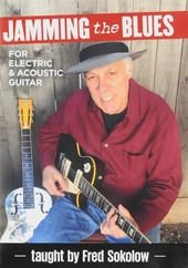 Jamming the blues : For electric & acoustic guitar